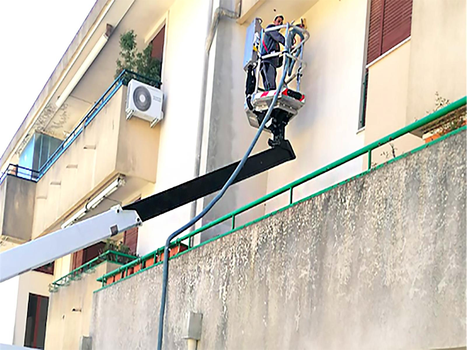 Lavoro di Insufflaggio pareti esterne Matera