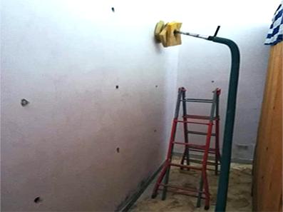 insufflaggio muri interni