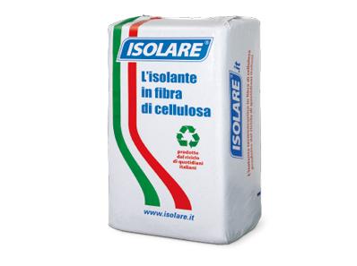 isolare fibra di cellulosa